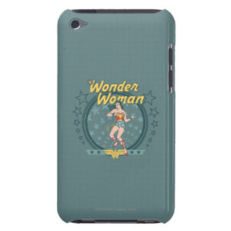 Wonder Woman Distressed Star Design Barely There iPod Cover