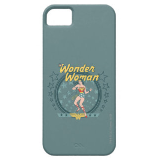 Wonder Woman Distressed Star Design iPhone 5 Cover