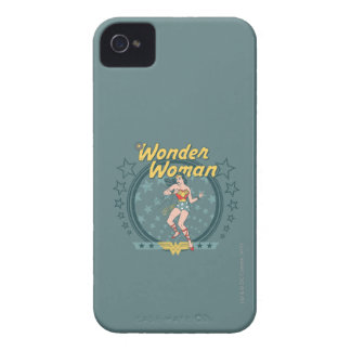 Wonder Woman Distressed Star Design Case-Mate iPhone 4 Case