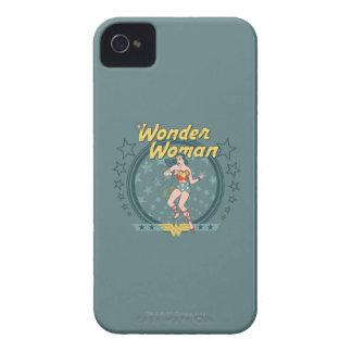 Wonder Woman Distressed Star Design iPhone 4 Case