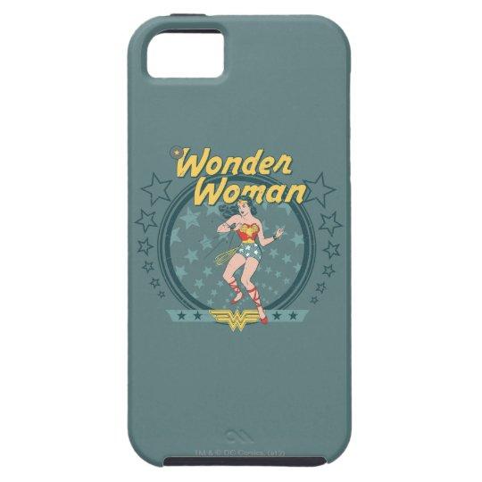 Wonder Woman Distressed Star Design iPhone SE/5/5s Case