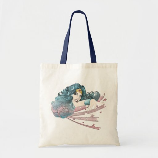 Wonder Woman Dolphin and Stripes Bag