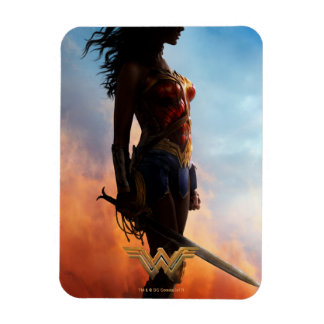 Wonder Woman Duststorm Silhouette Magnet