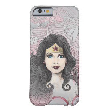 Wonder Woman Eagle and Trees Barely There iPhone 6 Case