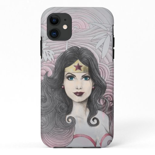 Wonder Woman Eagle and Trees iPhone 11 Case