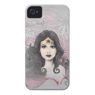 Wonder Woman Eagle and Trees iPhone 4 Covers