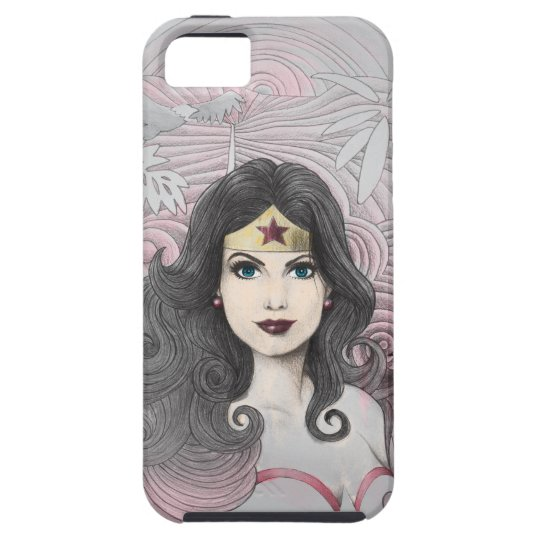 Wonder Woman Eagle and Trees iPhone SE/5/5s Case