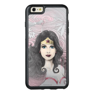 Wonder Woman Eagle and Trees OtterBox iPhone 6/6s Plus Case