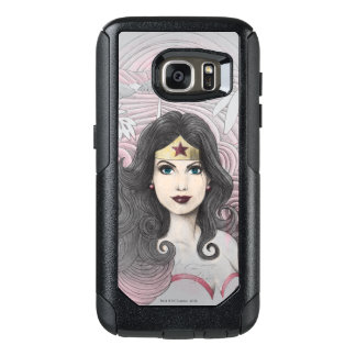 Wonder Woman Eagle and Trees OtterBox Samsung Galaxy S7 Case
