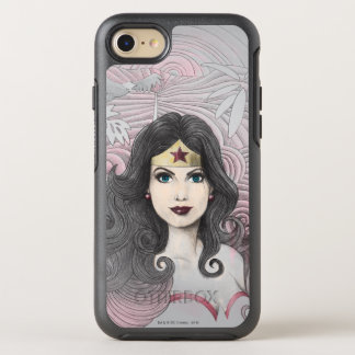 Wonder Woman Eagle and Trees OtterBox Symmetry iPhone 8/7 Case