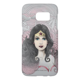 Wonder Woman Eagle and Trees Samsung Galaxy S7 Case