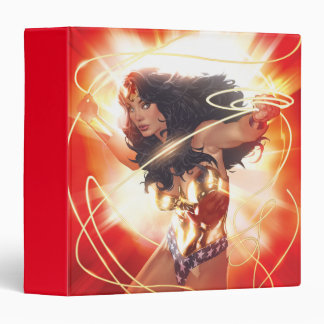 Wonder Woman Encyclopedia Cover 3 Ring Binder