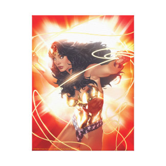 Wonder Woman Encyclopedia Cover Canvas Print