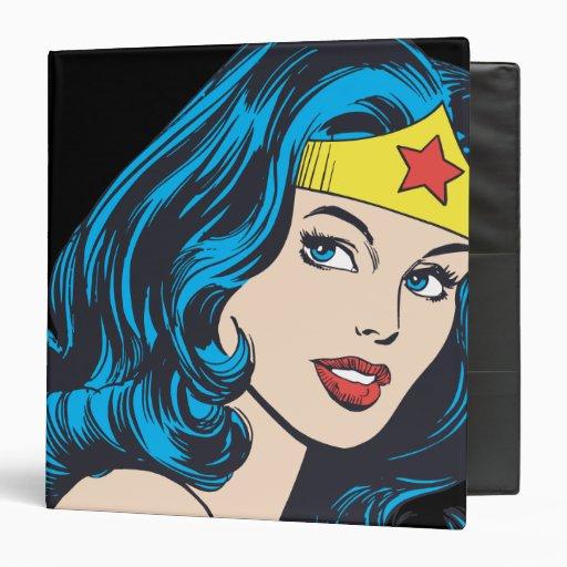 Wonder Woman Face Binder