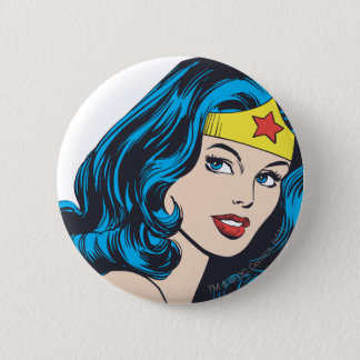 Wonder Woman Face Button