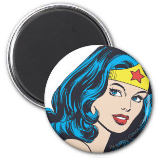 Wonder Woman Face Magnet