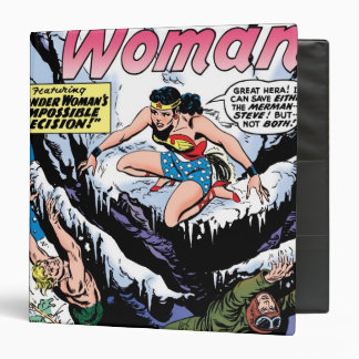 Wonder Woman Featuring Wonder Girl Vinyl Binders