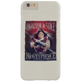 Wonder Woman Fight For Justice Barely There iPhone 6 Plus Case