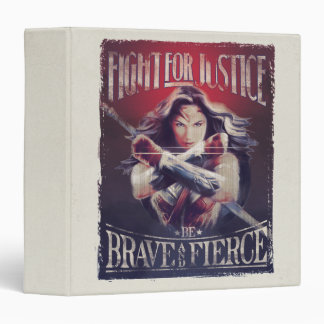 Wonder Woman Fight For Justice Binder