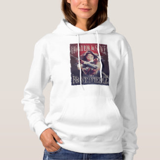 Wonder Woman Fight For Justice Hoodie