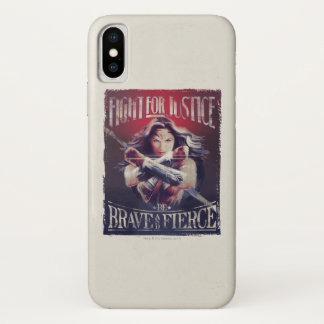 Wonder Woman Fight For Justice iPhone X Case
