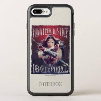 Wonder Woman Fight For Justice OtterBox Symmetry iPhone 8 Plus/7 Plus Case