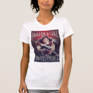 Wonder Woman Fight For Justice T-Shirt