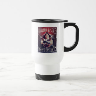 Wonder Woman Fight For Justice Travel Mug