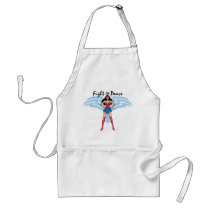 Wonder Woman - Fight For Peace Adult Apron