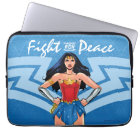 Wonder Woman - Fight For Peace Laptop Sleeve