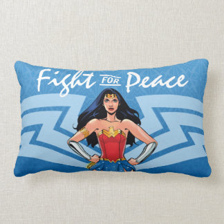 Wonder Woman - Fight For Peace Lumbar Pillow