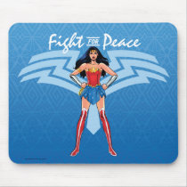Wonder Woman - Fight For Peace Mouse Pad