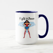 Wonder Woman - Fight For Peace Mug
