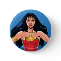 Wonder Woman - Fight For Peace Pinback Button