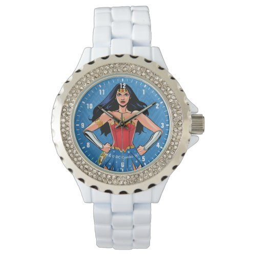 Wonder Woman – Fight For Peace Wristwatch