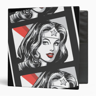 Wonder Woman Film Strip Binder
