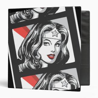 Wonder Woman Film Strip 3 Ring Binder