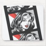 Wonder Woman Film Strip Mouse Pad