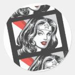 Wonder Woman Film Strip Sticker