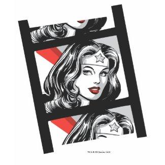 Wonder Woman Film Strip shirt