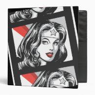 Wonder Woman Film Strip Vinyl Binder