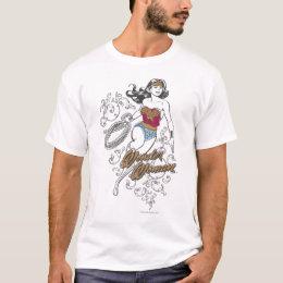 Wonder Woman Flourish T-Shirt