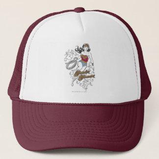 Wonder Woman Flourish Trucker Hat