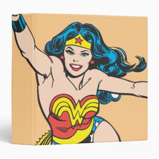 Wonder Woman Flying Forward Binder
