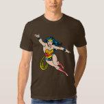 Wonder Woman Flying Forward T Shirt