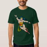 Wonder Woman Flying Forward T-shirt