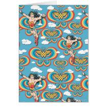 Wonder Woman Flying High Pattern