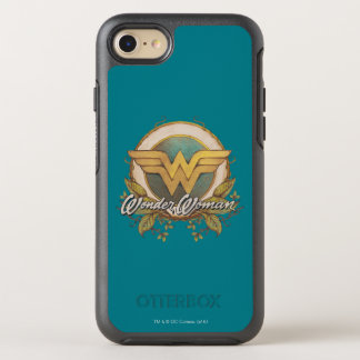 Wonder Woman Foliage Sketch Logo OtterBox Symmetry iPhone 7 Case