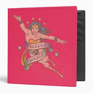 Wonder Woman Freedom Fighter Vinyl Binder