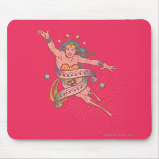 Wonder Woman Freedom Fighter Mouse Pad
